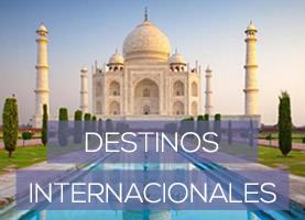 Destinos Internacionales